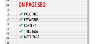 do onpage optimization for your website
