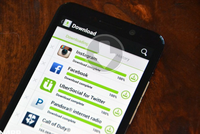 download & install your Android app 55 times