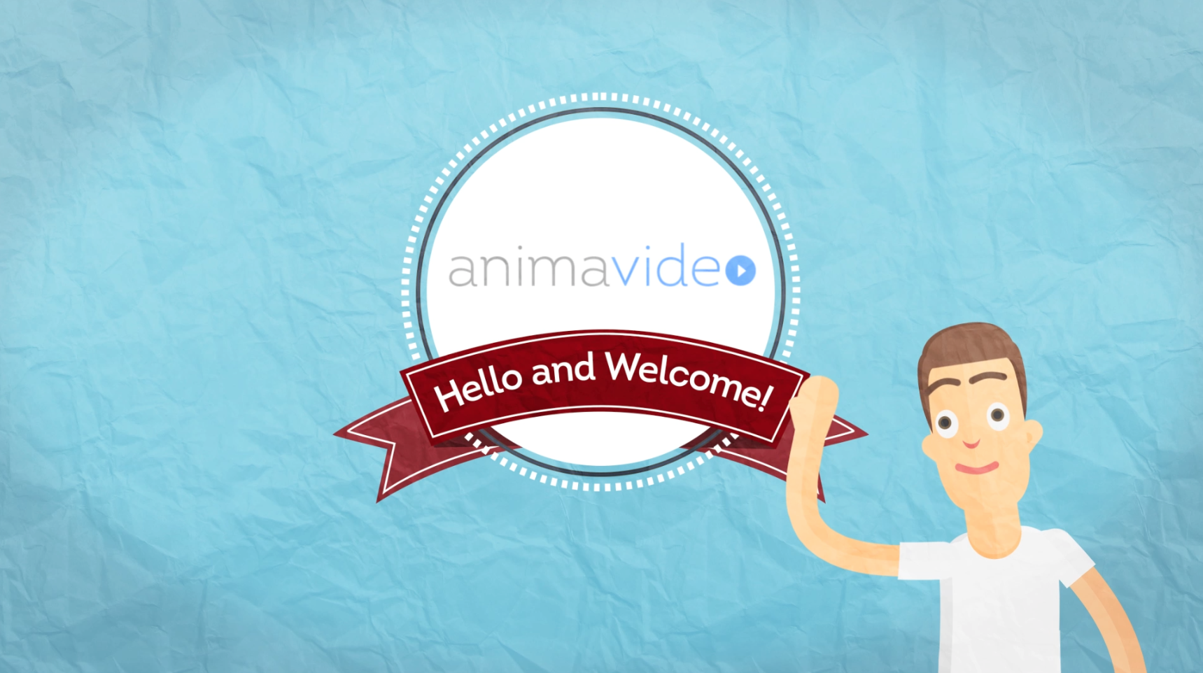 create this eye catching logo animation with funny cartoon character to promote your company