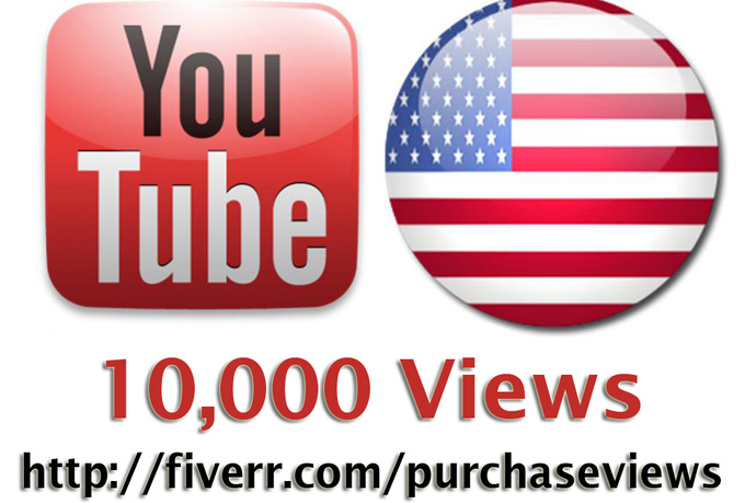 deliver 10,000 real usa youtube views with high retention