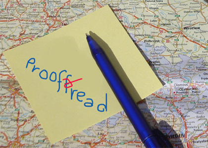 proofread any document of your choice to help you identify your errors if you dont have the time i do to help you
