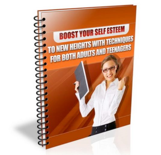 show you that low self esteem has a cure in a step by step you will become a much better person