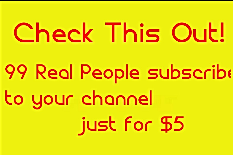 Provide 30 REAL Subscribers On YouTube