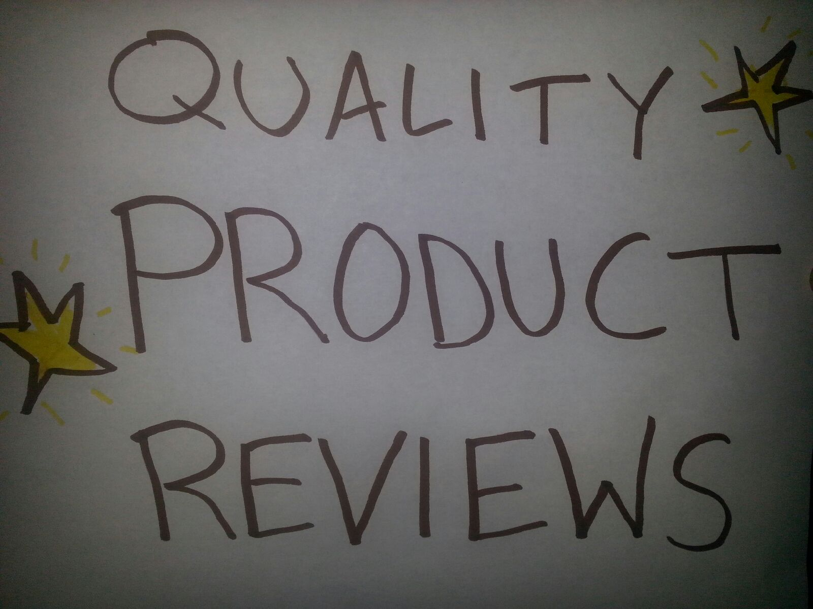 give you a quality product review