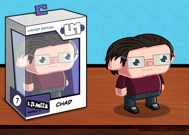 draw an awesome cartoon toy caricature