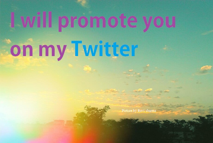 promote you on twitter