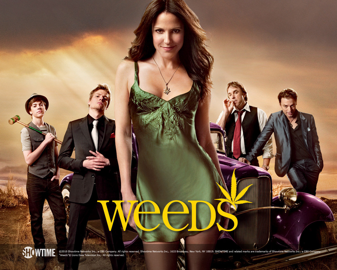 Give you download for all the season of weeds