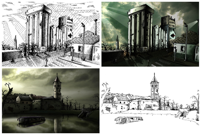 digitaly color your ilustrations and drawings