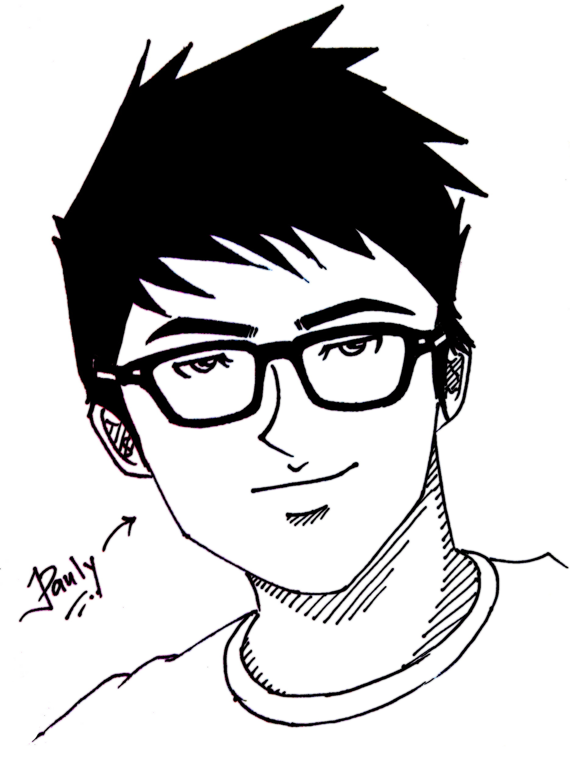 create an anime avatar/caricature of you