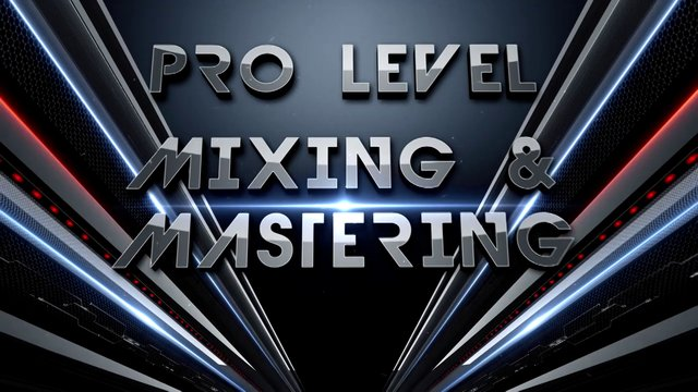 Professionally Mix and Master Your Tracks