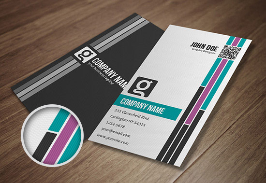 design professional double side business card with unlimited revision