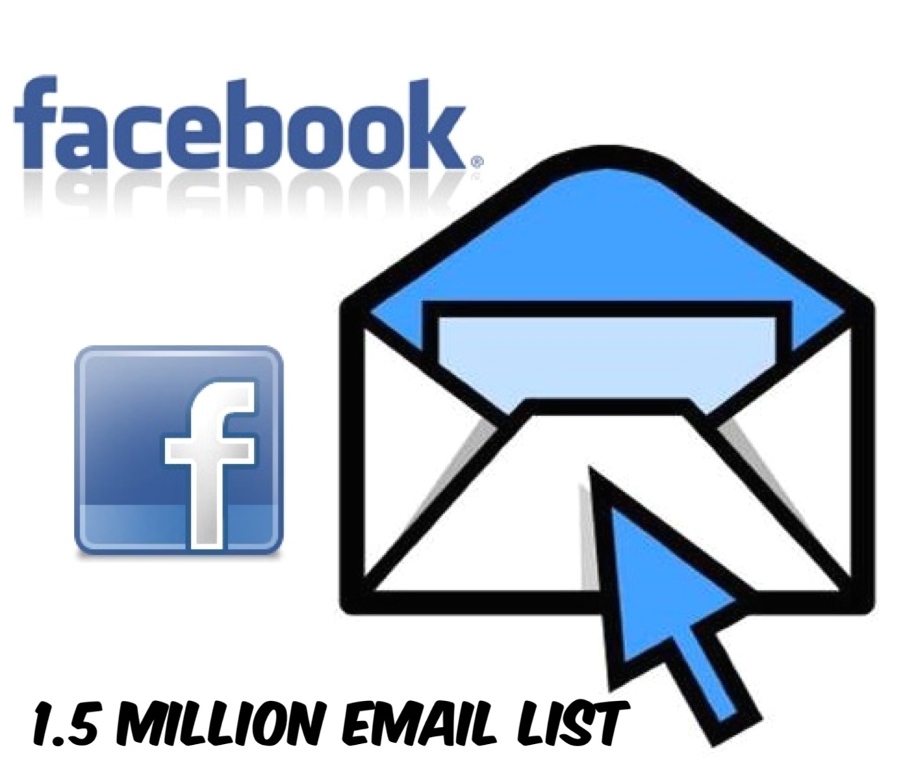 Give 1.5 Million Facebook Email List
