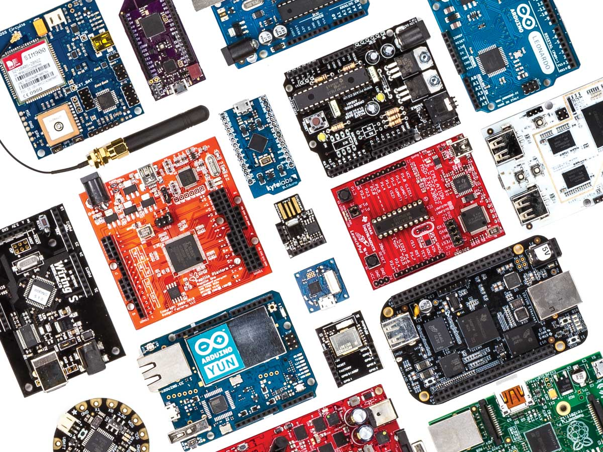 design your device using Arduino, Raspberry, or whatever other Embedded System solution you like