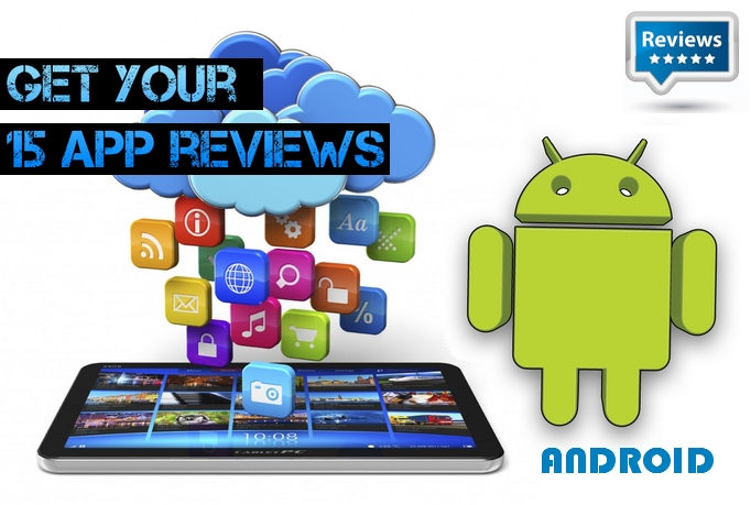 post 15 Reviews or 20 Ratings to your android App