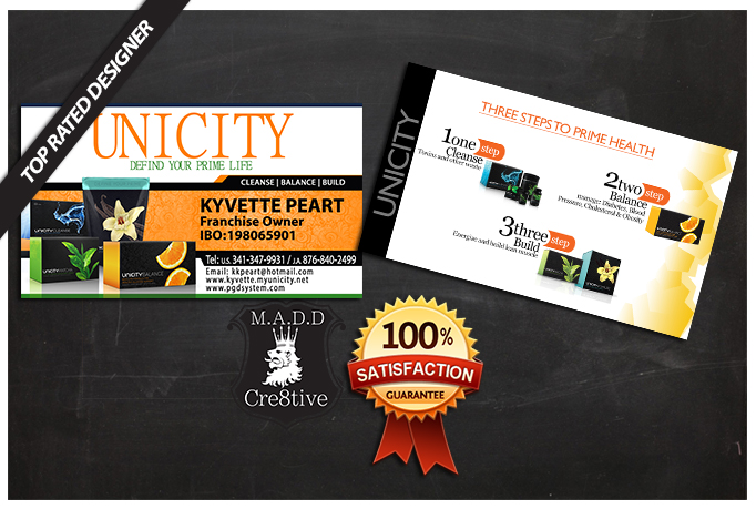 design cre8tive business cards