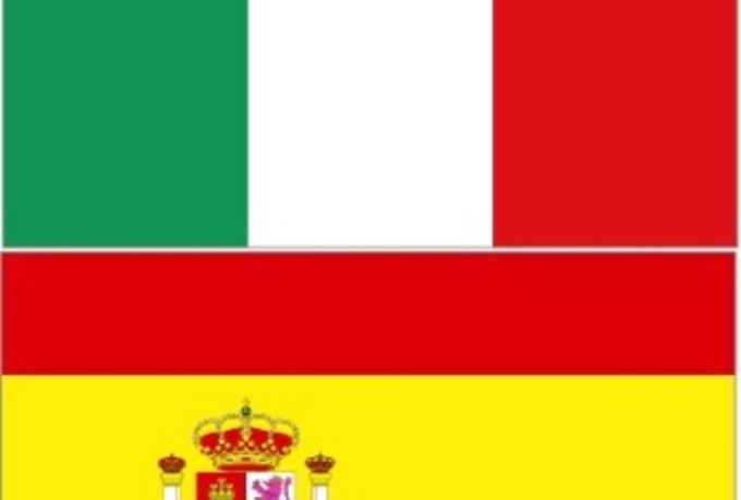 spanish to Italian - 600 Words