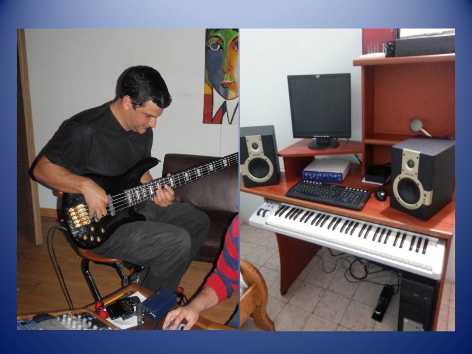 record music on pro tools system (keyboard, guitar, bass, vocals) with professional sound