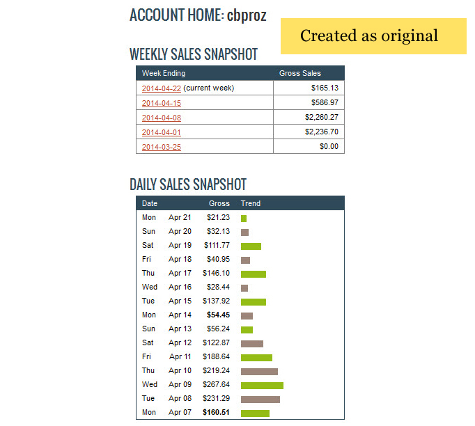 create fake screenshots for paypal, clickbank and etc
