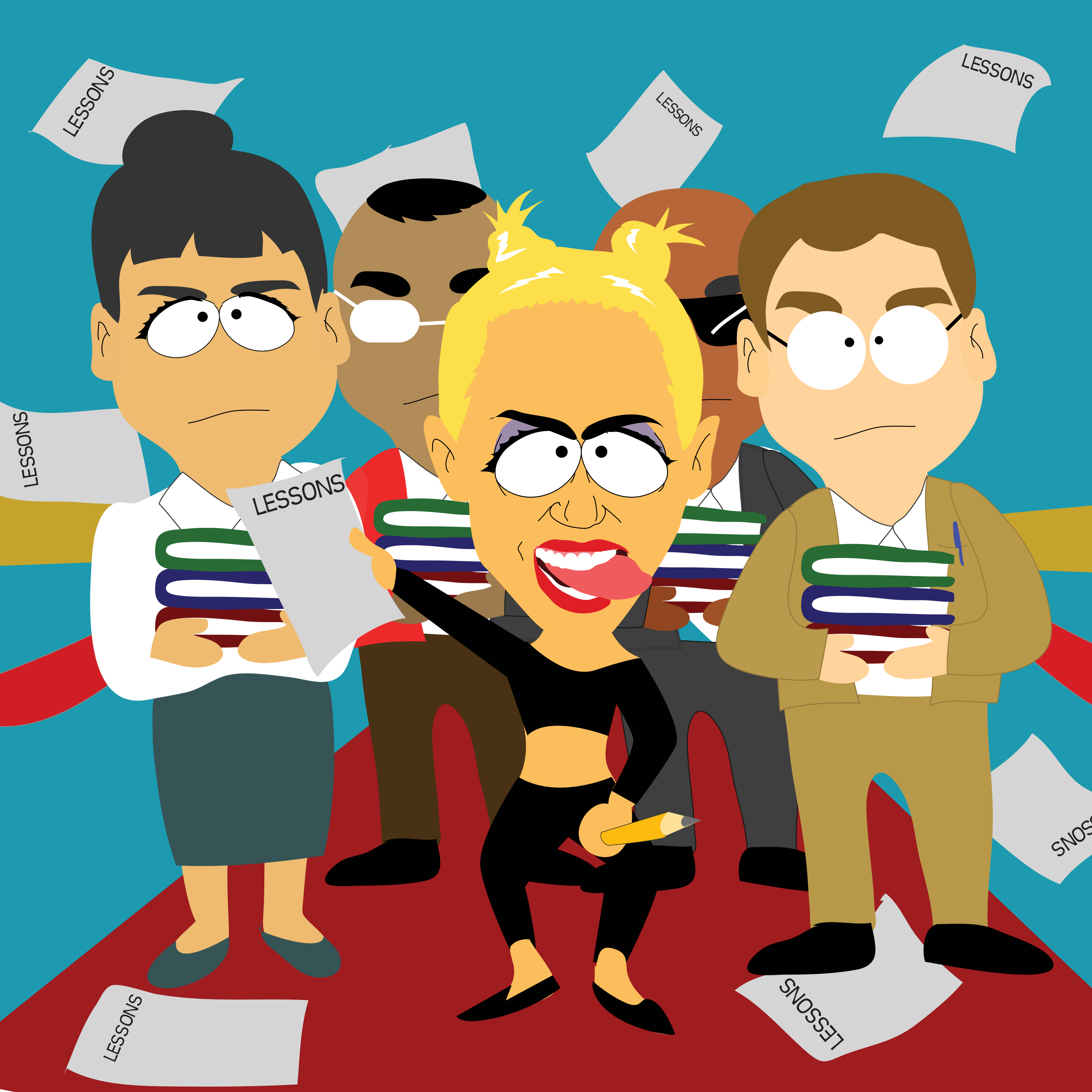 make a caricature of you South Park style