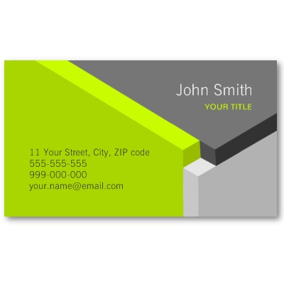 do exclusive and unique visiting cards