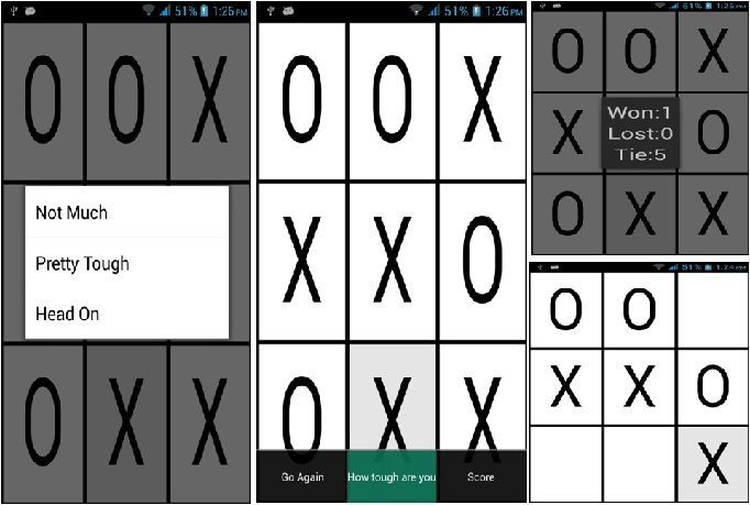provide source code of android game Tic Tac Toe