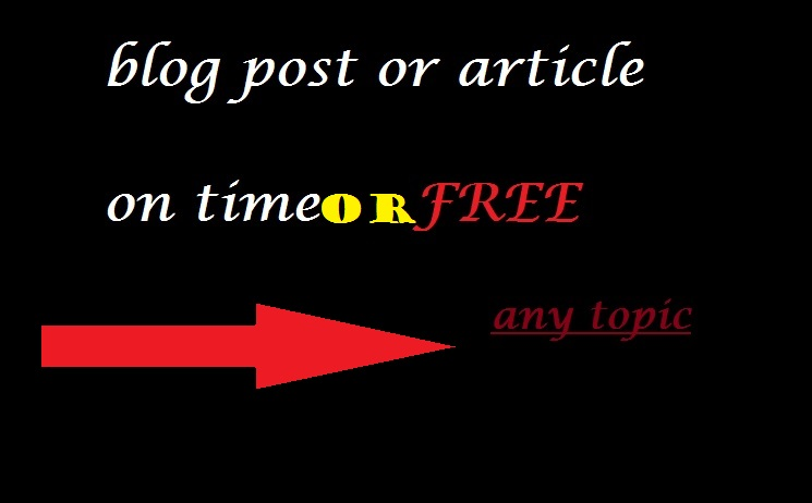 write 2 1000 word articles