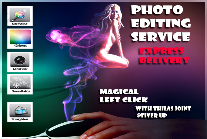 do any kind of Photoshop edits within 24 hours