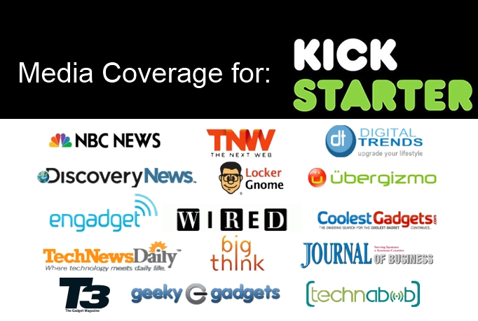 improve your Kickstarter look & advise about getting media coverage