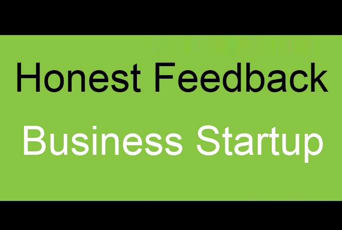 review your web business startup idea