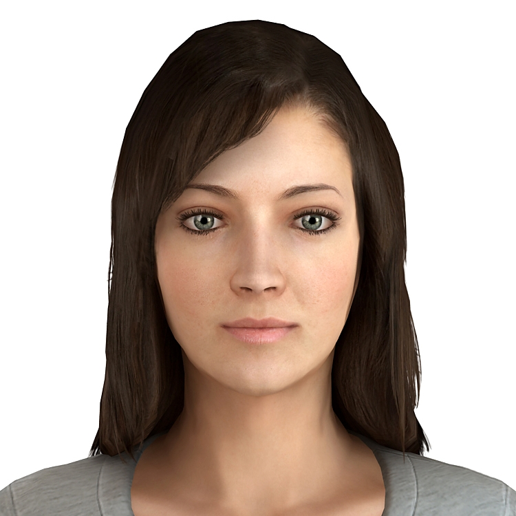 make a 3d model of your face