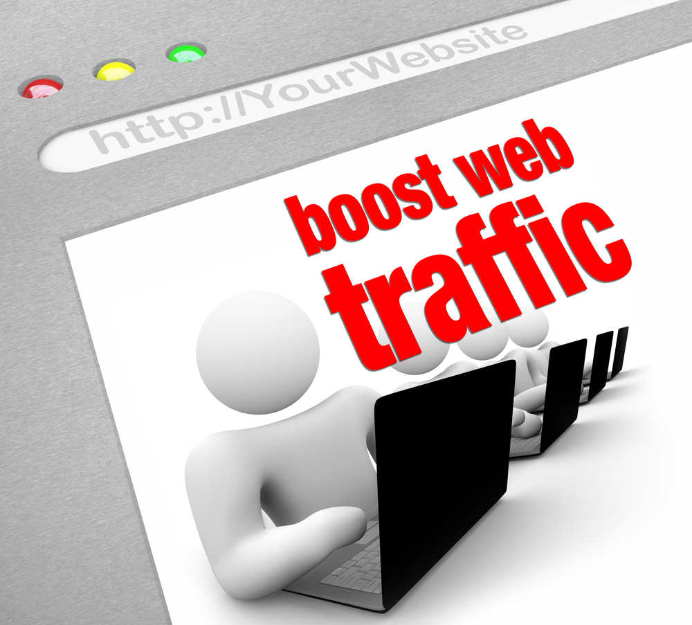 generate traffic to your website