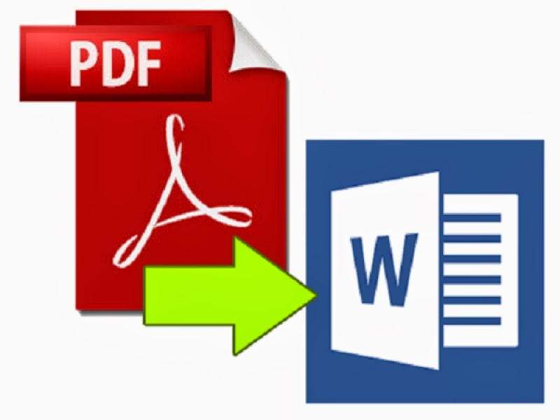 Convert Word or Image files to or from PDF