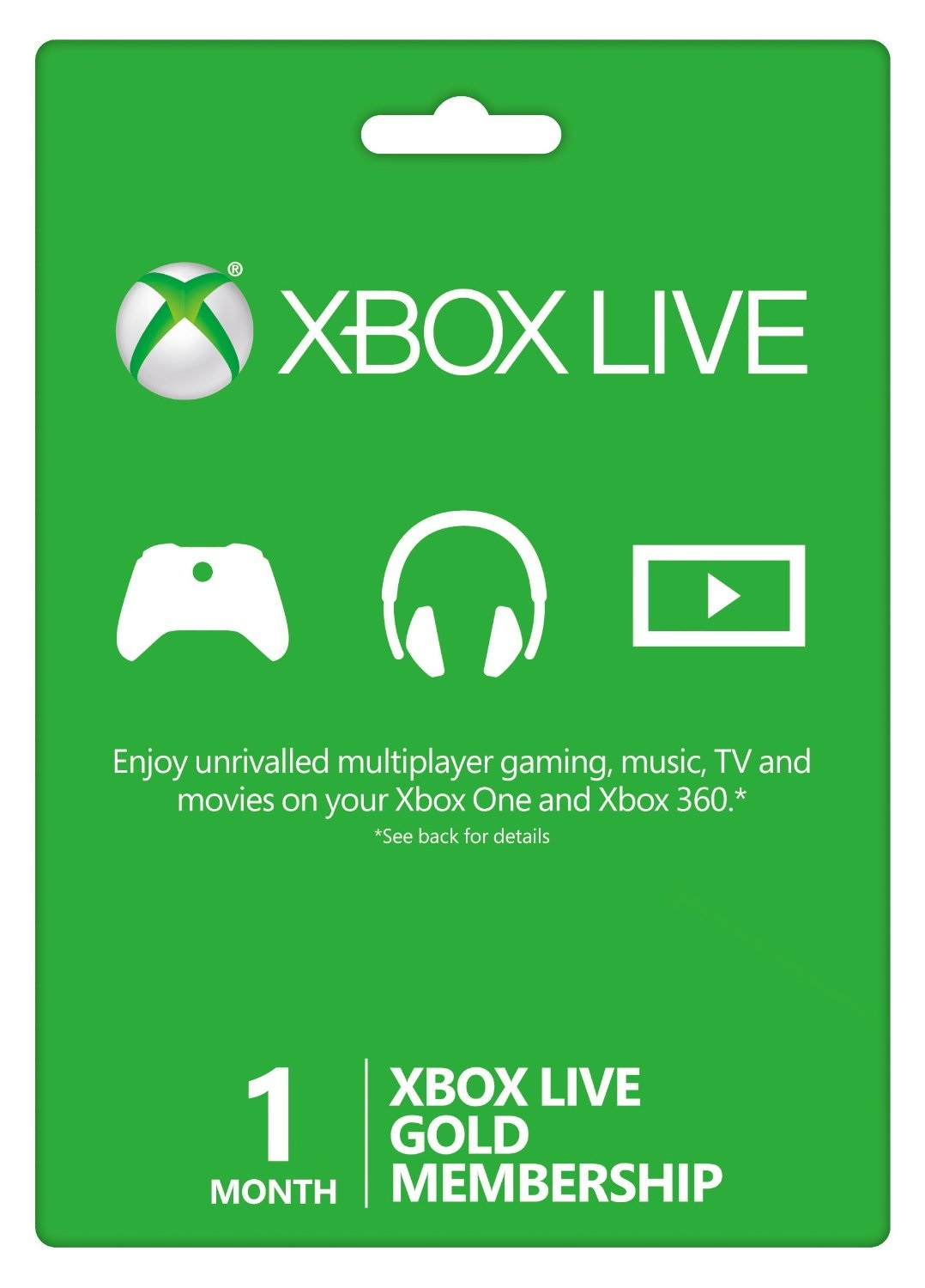 Sell you One month of Xbox Live