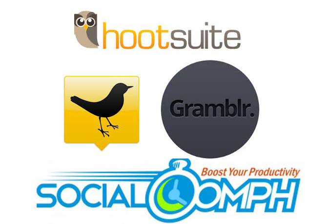 handle you hootsuite tweetdeck socialoomph posts daily