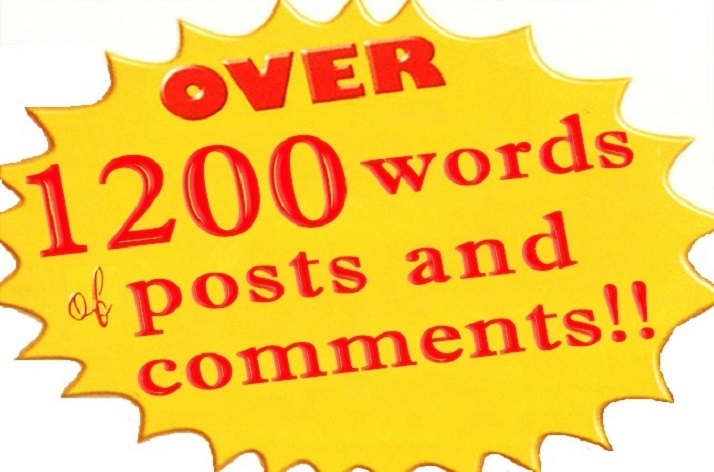 post 40 handwritten comments on your blog