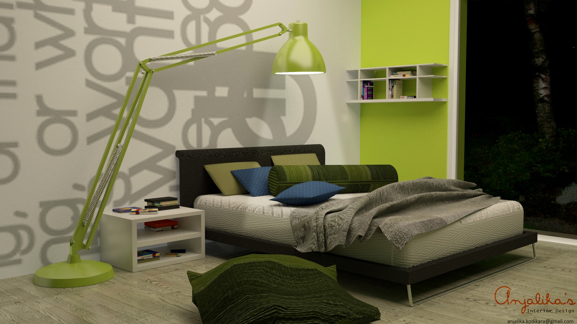 make 3D models of interiors and make architectural renders