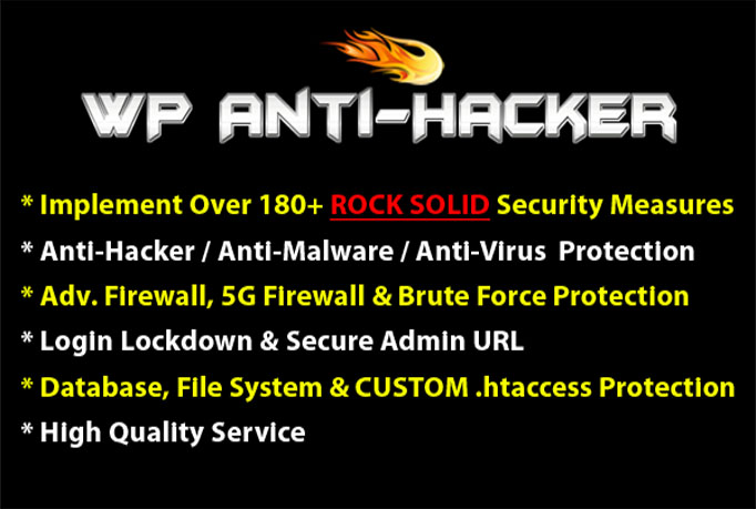 Secure Wordpress Site from Hackers with 180+ ROCK-SOLID Security Measures