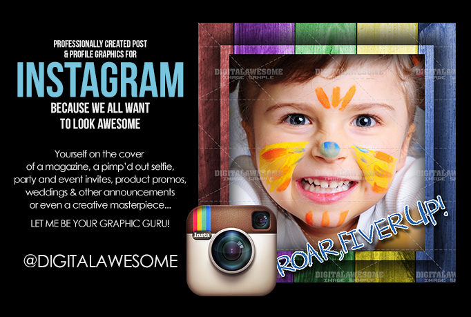 design you an AMAZING Instagram Post