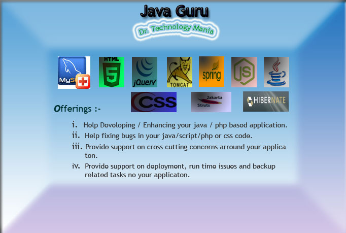 Do java, javascript and jquery assignments