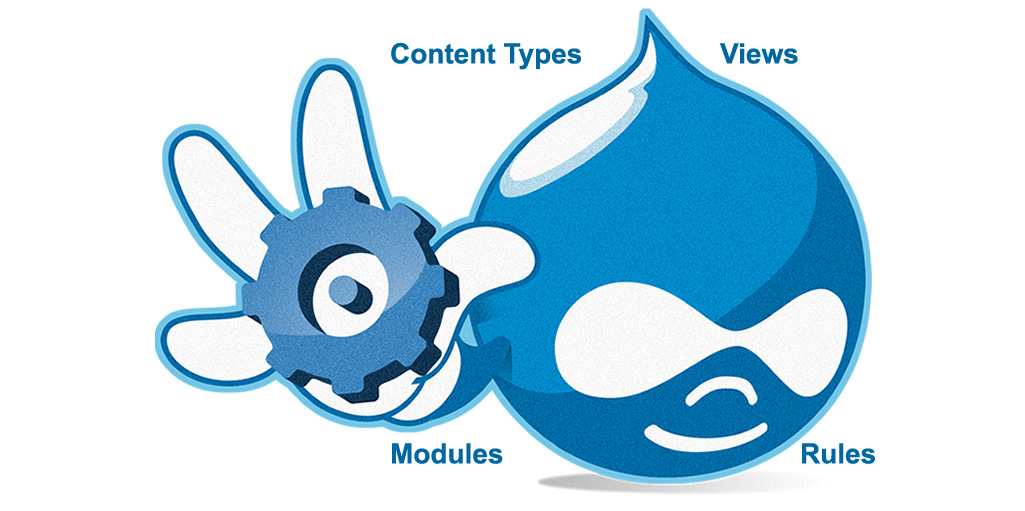 create a Drupal content type with simple fields