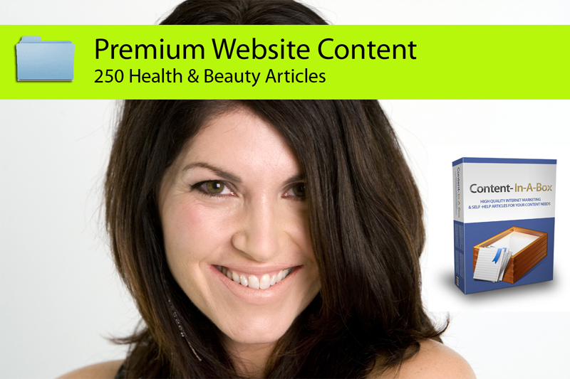 send you 250 Health and Beauty PLR Articles