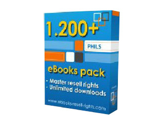 give you 1,200+ eBooks with Full Resell Rights