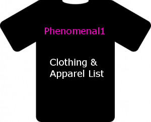 send a list of Active, Genuine U.K Suppliers of Clothing and Apparel