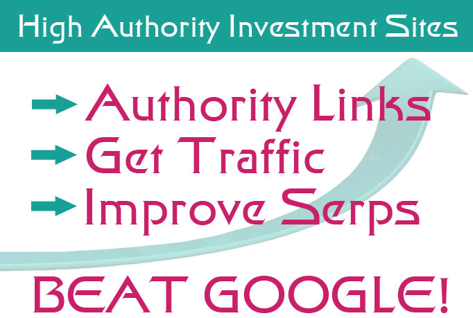 send a list of 25 Verified High Pr Authority Investment sites who accept free posts