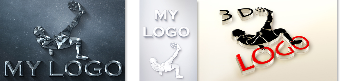 convert existing logo to 3D
