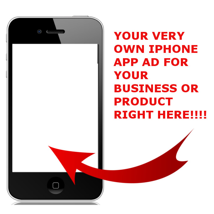 place a banner ad in my popular iphone app seen by 50 thousand people everyday