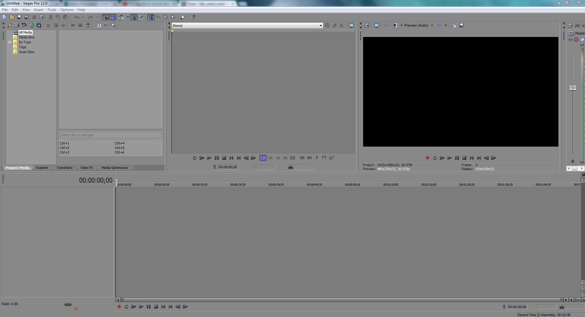 edit and render your video