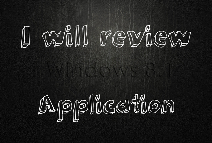 review and rate your windows 8 app