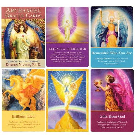 do a 1-question angel card reading by email
