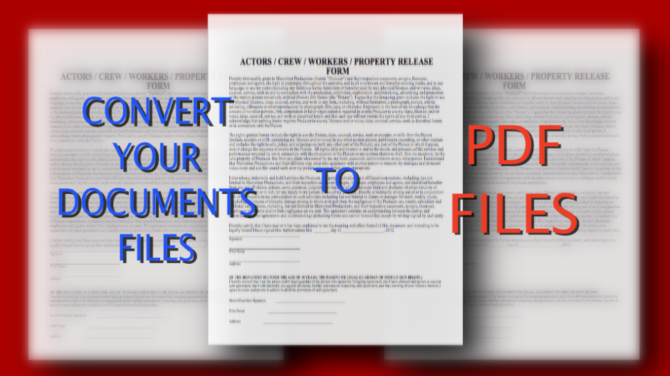 convert your Word document to a PDF file.